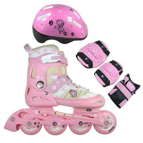 FA Sports Kinder Inline-Skates Set SkateGears