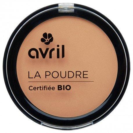 AVRIL - Poudre Compacte Doré 67 - Ne Dessèche pas la Peau - Certifiée Bio - Non Testée sur les Animaux - 7g