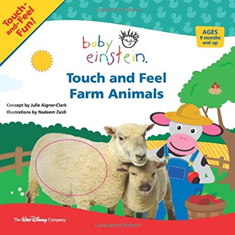 Baby Einstein Touch and Feel Farm Animals