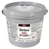 Viva Decor Beton für Kneten, synthetisches Material, grau, 23x 18x 18cm