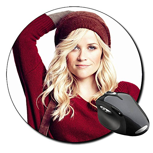 reese-witherspoon-round-mousepad-pc