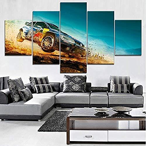 Kuletieas 5 Piezas Modern HD Impreso Wall Art Canvas