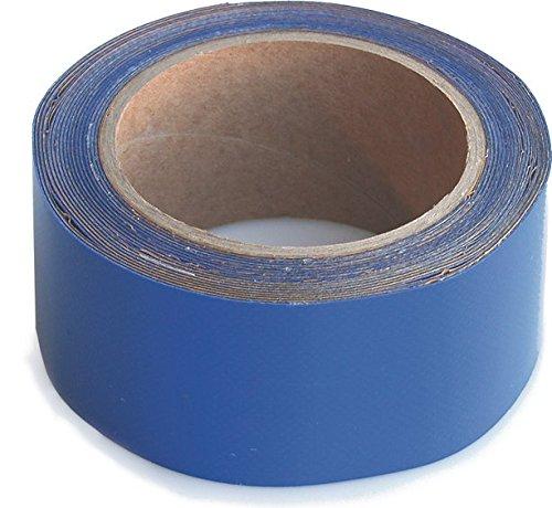 WUPSI PVC Reparatur Klebeband Für Alle Planen Und Folien, Blau, 5 Cm X 5 M