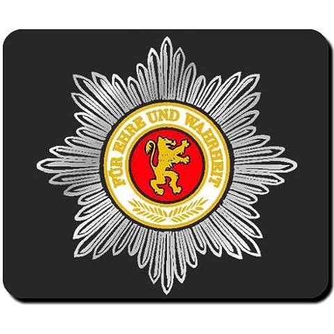 DDR–Estrella República Democrática Alemana Emblema Policía Escudo nadadores Policía Militar feldgendarmerie Alfombrilla de ratón Mousepad Ordenador Laptop PC #