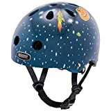 Nutcase Baby Nutty, Casco da bici per bambini, Multicolore (Outer Space), XXS (47-50 cm)
