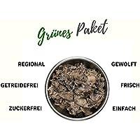 feed&meat 22kg verde barfpaket Incluye pansen y hojas estómago