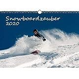 Calendario 2020, formato A3 con snowboard e 1 biglietto regalo