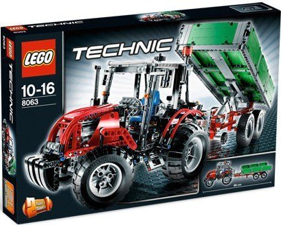 Lego-8063-Technic-Tractor-with-Trailer
