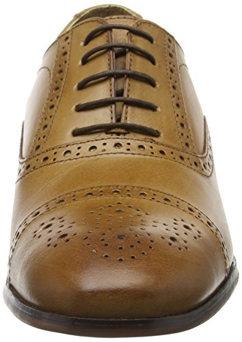 Red Tape Hartwell, Brogues Homme Marron (Beige)