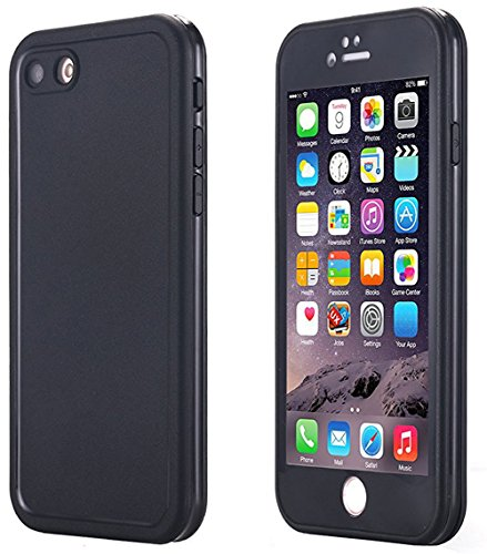 AICase Wasser-und schneedichte Schutzhülle für Apple iPhone 7 und iPhone 8, Schutzgrad IPX6; Stoßfestes, ultradünnes iPhone Case aus TPU-Material