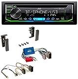 JVC KD-R992BT Bluetooth MP3 CD Aux USB Autoradio für Audi A2 A3 8L A4 B5 A6 C5 Aktivsystem