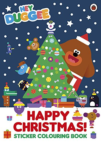 Hey Duggee: Happy Christmas! Sticker Colouring Book por Ladybird