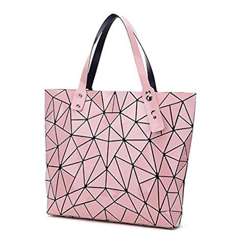 Handtaschen Mode-Hand Variety Freizeit-Beutel Geometrische Umhängetasche Pink