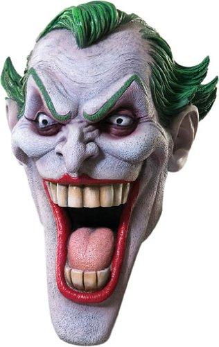 Joker Latexmaske Batman Maske Kostüm Zubehör Latex Voll Maske Clown (Maske Latex Batman)