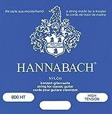 Hannabach Cordes Guitare classique Série 800 Tension forte Argentée Mi1 corde unique