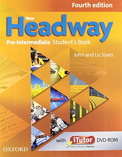 New Headway 4th Edition Pre-Intermediate. Student's Book and Workbook without Key Pack (New Headway Fourth Edition)