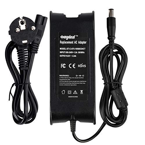 65W 19.5V 3.34A DA90PE1-00 LA65NS0-00 Laptop Netzteil für Dell XPS 13 Latitude E5440 E7240 AC Adapter, Inspiron 15 13 17 Notebook EUR Power Supply, 7.4 * 5.0mm