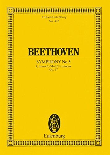 Sinfonie Nr. 5 c-Moll: op. 67. Orchester. Studienpartitur. (Eulenburg Studienpartituren)