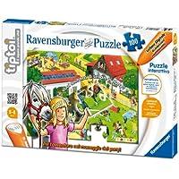 Ravensburger Tiptoi 00577 - Puzzle Il Maneggio dei Pony