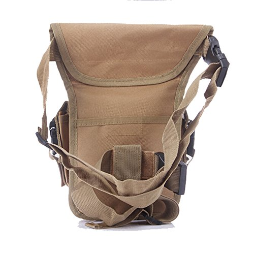 ruifu Multifunktions Outdoor Bein Tasche Utility Oberschenkel Fanny Wasserdicht Tactical Waist Pack Khaki