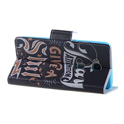 Cozy Hut Schutzhülle / Cover / Hülle / Handyhülle / Etui für Huawei Honor 5X Bunt Muster Design Folio PU Leder Tasche Case Cover im Bookstyle mit Standfunktion Kredit Kartenfächer mit Weich TPU Innere Bitte beachten Sie