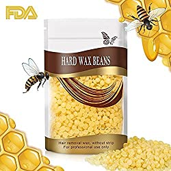 Majik Painless And Stripless Rapid Melt Hard Wax Beads For Hair Removal, Yellow, 250 Gram, Pack Of 1