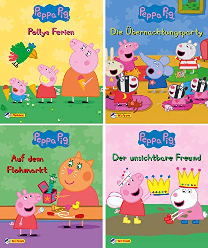 Nelson Mini-Bücher: 4er Peppa 5-8