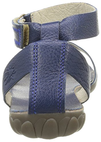 FLY London Damen Fuxa 623 Sandalen Blau - Bleu (Mousse Blue)
