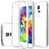 NOV@GO® Coque rigide ultra mince avec contour légèrement colorés pour Samsung Galaxy S5 et S5 Neo