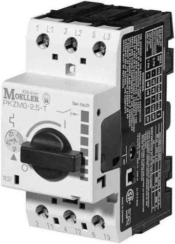 Eaton 088913 Transformateur Disjoncteur, 3 broches, IR = 1,6-2,5 A, bornes à vis