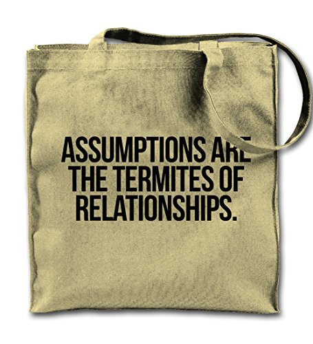 assumptions-are-termites-of-relationships-clever-citazione-canvas-naturale-tote-bag-panno-shopping-b
