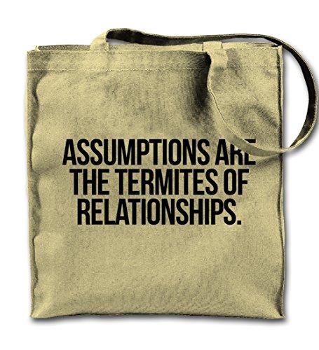 assumptions-are-termites-of-relationships-clever-zitat-naturliche-leinwand-tote-tragetasche-tuch-ein