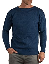 Wool Overs Pull Guernesey homme en pure laine