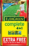 EverGreen Complete 10 Percent Extra Free Lawn Food, Weed and Moss Killer Bag, 360 sq m
