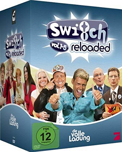 Switch Reloaded - Vol. 1-5 - Die volle Ladung [12 DVDs] Switch-dvd