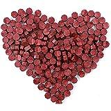 N\C Sceau Cire, 180 Pièces Cire d'Étanchéité Octogonale Bâtons de Perles, Perles de Cire à Cacheter Cire Sceau pour Le Cachet