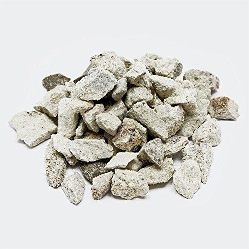 Clearoff Zeofilt Bassin et aquarium Filtre media 9–16 mm Zéolite Naturel (Clinoptilolite) Medium de filtration pour Sain Poissons et eau limpide 200 G-25kg – Livraison Gratuite au Royaume-Uni