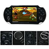 "Lujex (JXD) S5110 5 ""Resistive Touch Android 4.0.3 Portable Game Konsole LCD-Spielkonsole spielkonsole für alle Alter android spielkonsole Tablet PC Game Console game konsole gamepad konsole spiele ps3 konsole ps3 game ps3 kontroller mit WiFi (CPU 1GHz / RAM 512MB / 4GB HD) - Schwarz"