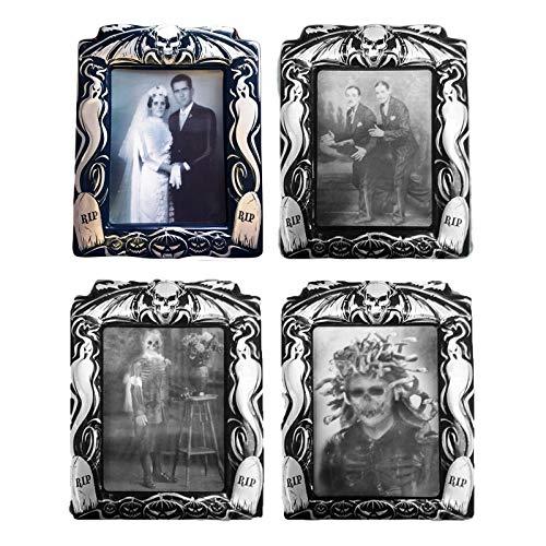 B-Creative Halloween-Foto-Set für Halloween, holografisch, verzerrt, -