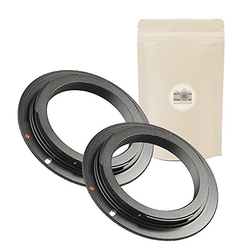 2x Eos lens mount adapter M42 to body Canon EOS EF for sale  Delivered anywhere in UK