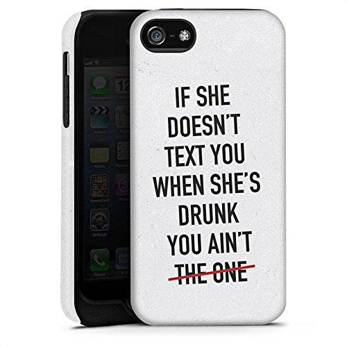 Apple iPhone X Silikon Hülle Case Schutzhülle Sprüche Liebe Party Tough Case matt