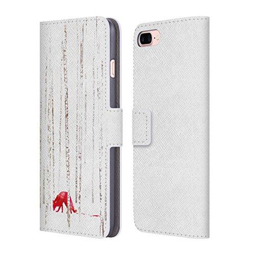 Ufficiale Robert Farkas Vulpes Volpe Cover a portafoglio in pelle per Apple iPhone 6 / 6s Non Si Può Girare