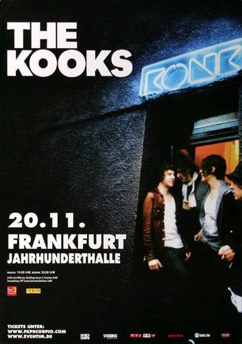 The Kooks - Konk (2008) - Konzertplakat, Konzertposter