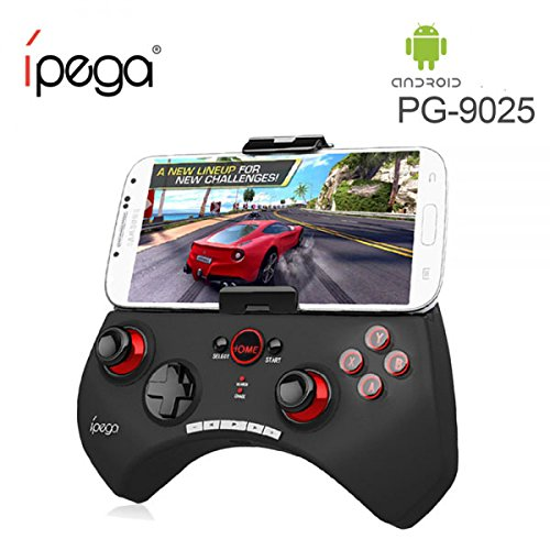 ORIGINAL PG-9025 IPEGA Controller di gioco Bluetooth Controller GamePad wireless Bluetooth controller android/PC games Samsung HTC Xiaomi Huawei Smartphone Tablet {2018 Version} (PG-9025)
