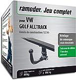 Rameder Attelage rotule démontable pour VW Golf ALLTRACK + Faisceau 7 Broches...