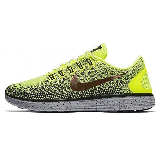 Nike Free Rn Distance, Sneakers trail-running homme Jaune