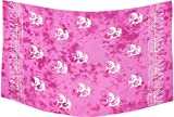 La Leela Hand malen Delfine und Bikini 78×43 Zoll rosa glatt Rayon vertuschen - 5