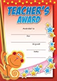 16 A6 Teachers Special Award Certificate Monkey