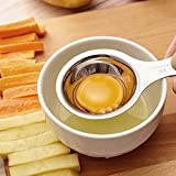 Separatore per uova, filtro per separare il tuorlo d'uovo dall'albume, colino in acciaio INOX 304, utensile da cucina