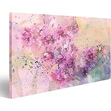 cuadro cuadros impresin sobre lienzo formato grande cuadros modernos flores pasteles con efecto de